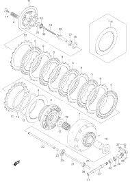 2007 suzuki boulevard m109r vzr1800 clutch parts best oem clutch