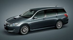 subaru minivan subaru exiga 2 0gt tuned by sti revealed in tokyo