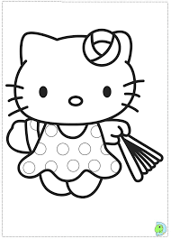 Hello Kitty Hawaii Coloring Pages Colouring Az Coloriage  grig3org