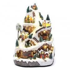 Animated Christmas Village Decorations by Christmas Villages Sets Online Sales On Holyart Com