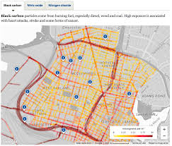 Data Map Mapping Air Pollution With Google Street View Cars Apte Research