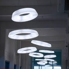 Light Fixtures Fluorescent by Hanging Light Fixture Led Round Polyethylene Circular Pol