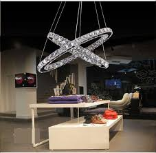 Remote Controlled Chandelier Discount Factory Direct 220v 110v Led New Luster Double Ovals
