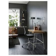 Kleiner Schreibtisch Auf Rollen Lillåsen Schreibtisch Ikea