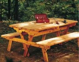 Free Woodworking Plans Folding Picnic Table by 17 Best Picnic Table Ideas Images On Pinterest Folding Picnic