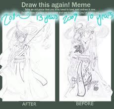 Draw This Again Meme Fail - drawn fail draw this again meme fail pencil and in color drawn