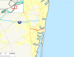 Spirit Route Map by New Jersey Route 88 Wikipedia