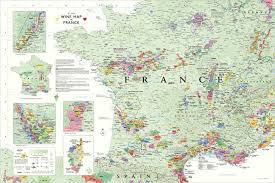 Air France Route Map by Wine Map Of France Recana Masana