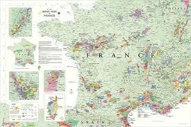 France Rail Map by Wine Map Of France Recana Masana