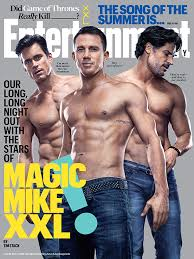 magic mike xxl behind the magic mike xxl stars matt bomer channing tatum joe manganiello