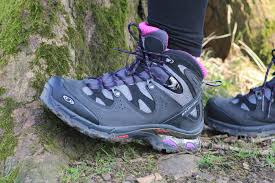 womens boots for walking womens salomon comet 3d tex walking boot review