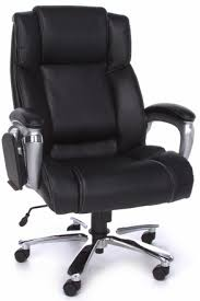 200 leather office chair with tablet arm by ofm oro200