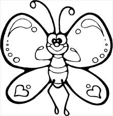 9 butterfly coloring pages free u0026 premium templates