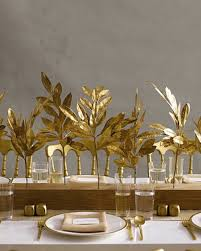 35 gold thanksgiving décor ideas digsdigs