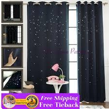 Door Curtains Navy Blue Twinkle Design Bedroom Door Curtain