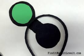 diy mickey or minnie mouse ears find it make it love it