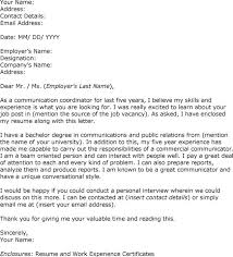 communications intern cover letter 5396