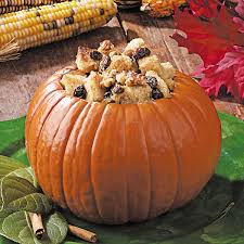 thanksgiving pudding recipes bread pudding pumpkin recipe taste of home