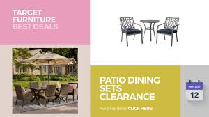 Target Patio Dining Set - patio dining sets clearance target furniture best deals youtube