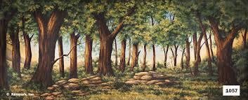 forest backdrop 1057 golden forest 20x50 jpg
