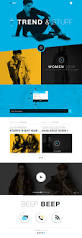 mikalief fashion luxury landing page full view ui pinterest