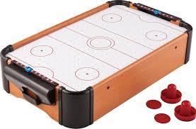 best table hockey game amazon com mainstreet classics 22 inch table top air hockey game