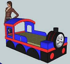 Thomas The Train Bed Building A Thomas Train Bed Carpentry Diy Chatroom Home