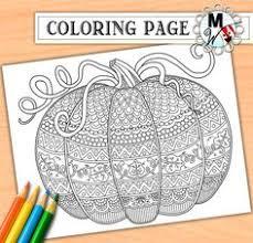 free printable harvest pumpkin coloring fall