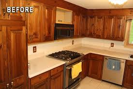 Rustoleum For Kitchen Cabinets by Rust Oleum Cabinet Transformations Review Before And After