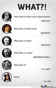 Philosophy Meme - the evolution of philosophy by recyclebin meme center