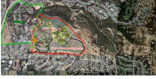 Map Of Oakland Knowland Park Aerial Photos