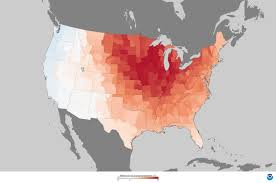 United States Temp Map by Monthly Average Temperatures Weathercom Climate Prediction Center