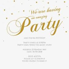 fancy invitations fancy font party free printable party invitation template