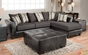 Sectional Sofa With Double Chaise Sectional Sofa Design Charcoal Gray Sectional Sofa With Chaise
