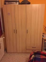 armadi a due ante ikea usato armadio ikea 3 ante 2 cassetti in 00159 roma su 55 00