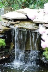 relaxing garden and backyard waterfalls best home design ideas
