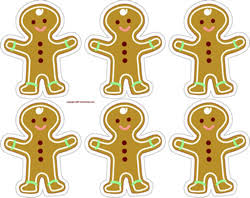 printable gingerbread man gift tags christmas gingerbread men printable sheet make gift wrap
