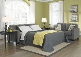 sofa bed sheets queen safia slate queen sofa sleeper 9530139 sleeper sofa shop