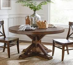 barn dining room table pottery barn montego turned leg dining