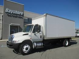 international box van trucks for sale