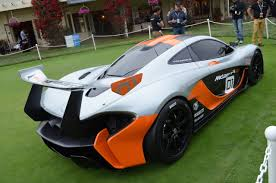 mclaren p1 concept mclaren p1 gtr concept pebble beach 2014 autonation photos alfino