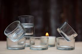 re usable glass tealight holders