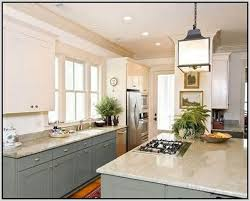 different color cabinets for kitchen painted kitchen cabinets two different colors replacing