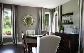 dining room vintage gray dining room decor with long wooden