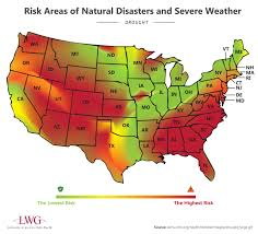 Colorado Drought Map by Risk Areas Of Natural Disasters And Severe Weather