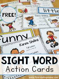 words cards free sight word cards this reading