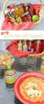 summer gift basket spicy summer gift basket sugar spice and glitter