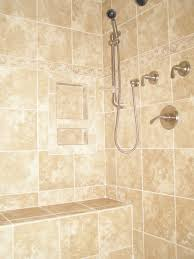 Tiled Shower Ideas by Ceramic Tile Showers Without Doors Ceramic Tile Shower Bench