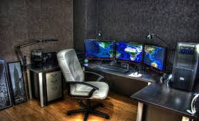 Awesome Office Desks Impressive Office Desk Setup Pictures Gallery Of Amazing Office