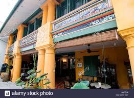 yang kang hotel lebuh chulia georgetown penang malaysia stock